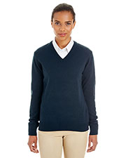 Harriton M420W  Ladies' Pilbloc™ V-Neck Sweater at GotApparel
