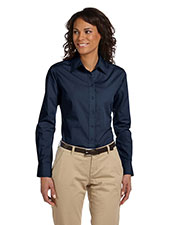 Harriton M510W Women 3.1 oz. Essential Poplin at GotApparel
