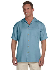 Harriton M570 Men Bahama Cord Camp Shirt at GotApparel