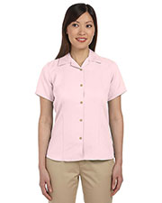 Harriton M570W Women Bahama Cord Camp Shirt at GotApparel