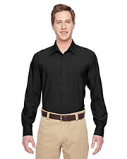 Harriton M610 Men Paradise Long-Sleeve Performance Shirt at GotApparel