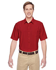 Harriton M610S Men Paradise Short-Sleeve Performance Shirt at GotApparel