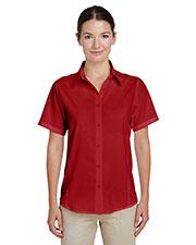 Harriton M610SW Women Paradise Short-Sleeve Performance Shirt at GotApparel