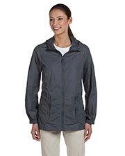 Harriton M765W Women Essential Rainwear at GotApparel