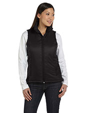Harriton M795W Women Essential Polyfill Vest at GotApparel