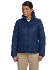 Harriton M797W Women Essential Polyfill Jacket at GotApparel