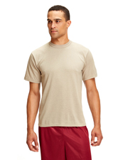 Soffe M805S Men Adult T-Shirt Dri-Release 85/15 Poly/Cotton at GotApparel