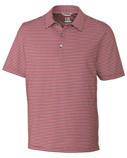 Cutter & Buck MCK09372 Men Division Stripe Polo at GotApparel