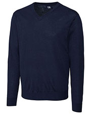 Cutter & Buck MCS01431 Men Douglas V-neckSweater at GotApparel