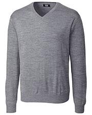 Cutter & Buck MCS01431 Men Douglas V-Neck Sweater at GotApparel