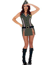 Halloween Costumes MO9127MD Women Army Brat Medium Size 6-10 at GotApparel