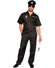 Halloween Costumes MO9674XL Men Hot Patrol Extra Large at GotApparel