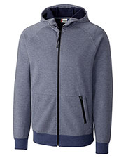 Clique New Wave MQK00048 Men Lund Fleece Zip Hoodie at GotApparel