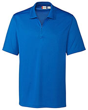 Clique New Wave MQK00065 Men Malmo Snag-Proof Zip Polo Shirt at GotApparel