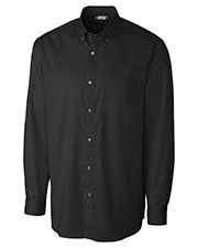 Clique New Wave MQW00003 Men Long-Sleeve Avesta Stain-Resistant Twill at GotApparel