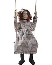 Halloween Costumes MR039121 Unisex Swinging Decrepit Doll Animate at GotApparel