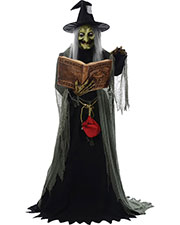 Halloween Costumes MR124250 Unisex Spell-Speaking Witch Animated at GotApparel