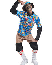 Halloween Costumes MR148277 Men Tourist Chimp Large at GotApparel