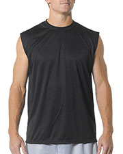 A4 Drop Ship N2295 Men's Cooling Performance Muscle T-Shirt at GotApparel