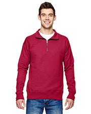 Hanes N290 Adult 7.2 oz. Quarter-Zip at GotApparel