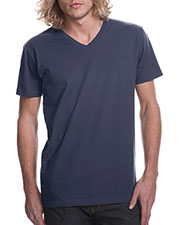 Next Level N3200 Men's Premium Fitted Short-Sleeve V-Neck Tee at GotApparel