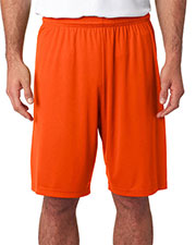 "A4 N5283 Men's 9"" Inseam Cooling Performance Shorts at GotApparel"