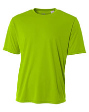 A4 Drop Ship NB3142 Boys Short-Sleeve Cooling Performance Crew Shirt at GotApparel