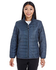 Ash City NE701W  Ladies' Portal Interactive Printed Packable Puffer at GotApparel