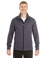 Ash City NE704  Men's Amplify Mélange Fleece Jacket at GotApparel