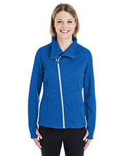 Ash City NE704W  Ladies' Amplify Mélange Fleece Jacket at GotApparel