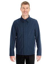 Ash City NE705 Men Edge Soft Shell Jacket With Fold-Down Collar at GotApparel