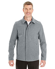 Ash City NE705  Men's Edge Soft Shell Jacket With Fold-Down Collar at GotApparel