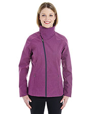 Ash City NE705W  Ladies' Edge Soft Shell Jacket With Convertible Collar at GotApparel