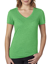 Next Level NL6044  Ladies' Poly/Cotton V at GotApparel