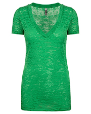 Next Level NL6540  Ladies' Burnout Crossover V-Neck at GotApparel