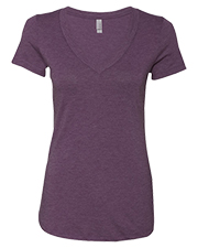 Next Level NL6740  Ladies' Tri-Blend Deep V-Neck Tee at GotApparel