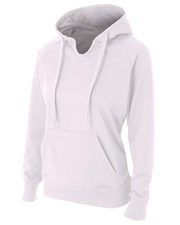 A4 NW4245 Women Tech Fleece Hoodie at GotApparel