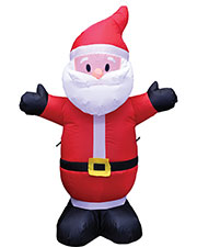 SANTA INFLATABLE  4 ft at GotApparel