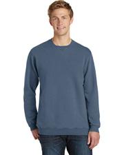Port & Company PC098 Men   Pigment-Dyed Crewneck Sweatshirt at GotApparel