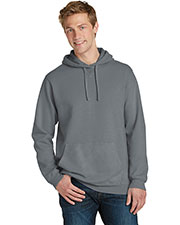 Port & Company PC098H Adult Essential PigmentDyed Pullover Hooded Sweatshirt at GotApparel