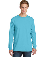Port & Company PC099LS Men   Pigment-Dyed Long-Sleeve Tee. at GotApparel