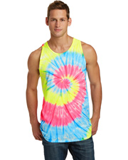 Port & Company PC147TT  ®  Tie-Dye Tank Top. at GotApparel