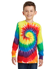 Port & Company PC147YLS  ® Youth Tie-Dye Long Sleeve Tee. at GotApparel