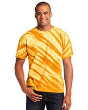 Port & Company PC148 Men Essential Tiger Stripe Tie-Dye Tee at GotApparel