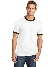 Port & Company PC54R Adult 5.4oz 100% Cotton Ringer Tee at GotApparel