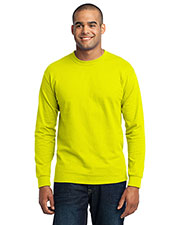 Port & Company PC55LST Men Tall Long-Sleeve 50/50 Cotton/Poly T-Shirt at GotApparel