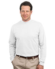 Port & Company PC61M Men Essential Mock Turtleneck at GotApparel