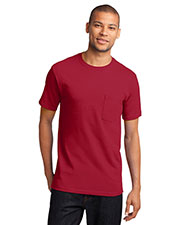Port & Company PC61PT Men Tall Essential T-Shirt With Pocket at GotApparel