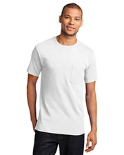 Port & Company PC61PT Men Tall Essential Pocket Tee at GotApparel
