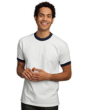 Port & Company PC61R Men Ringer T-Shirt at GotApparel